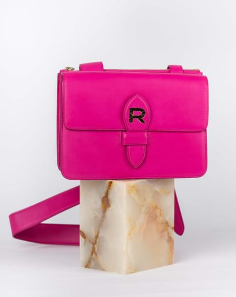 Picture of ROCHAS LOGO PINK MINI BAG