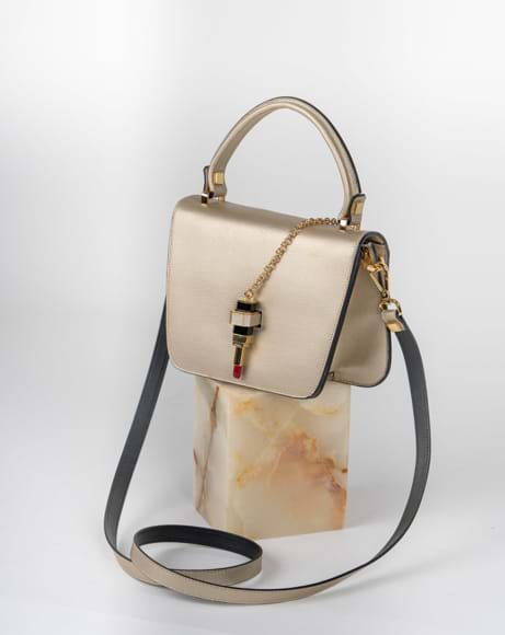 Picture of KATE QUEEN BAG PLATINO