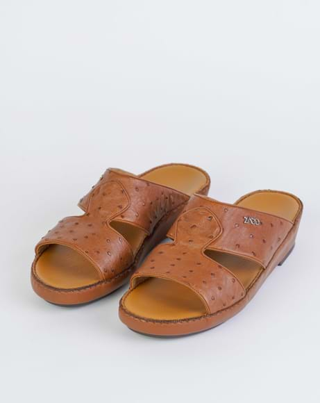 Picture of Z4720 ARABIC SANDAL - BROWN