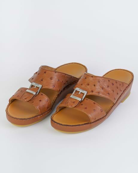 Picture of Z1493 ARABIC SANDAL - BROWN