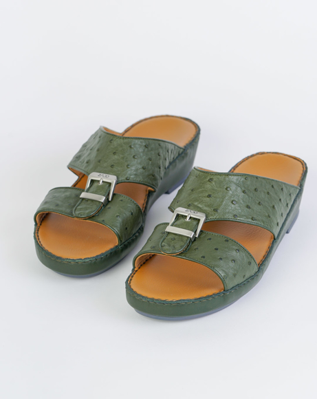 Picture of Z1493 ARABIC SANDAL - GREEN