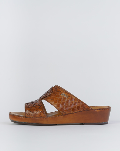 Picture of ZN4720 ARABIC SANDAL - OLD BROWN
