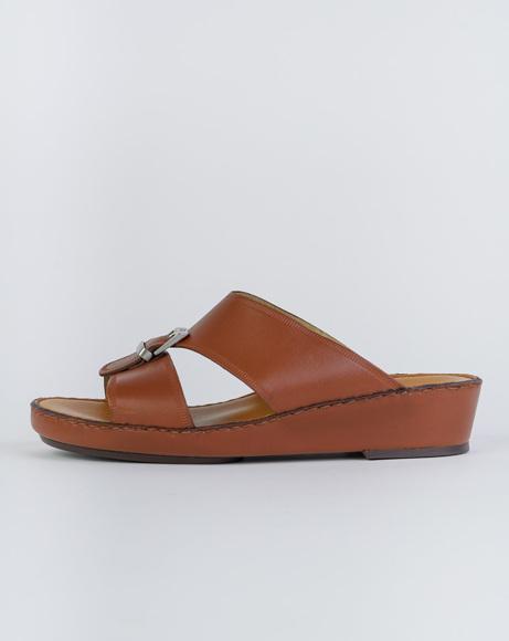 Picture of Z493 ARABIC SANDAL - BROWN