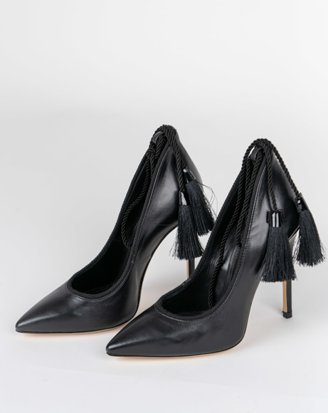 Picture of GHERDA BELL BLACK PUMPS