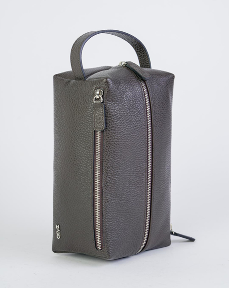 Picture of TOILETRY BAGS BROWN