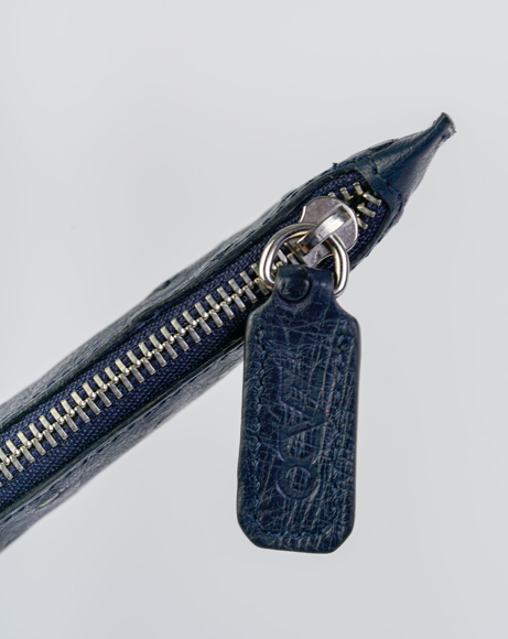 Picture of LEATHER PEN SLEEVE BLUE