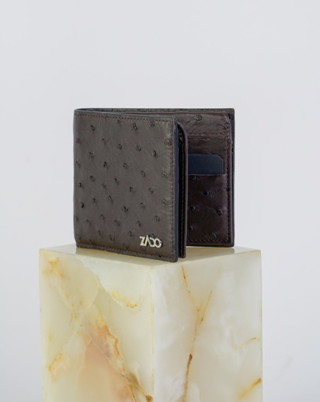 Picture of OSTRICH LEATHER WALLETS BROWN