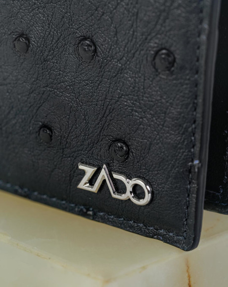 Picture of OSTRICH LEATHER WALLETS BLACK