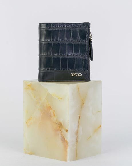 Picture of CROCODILE WALLETS BLACK