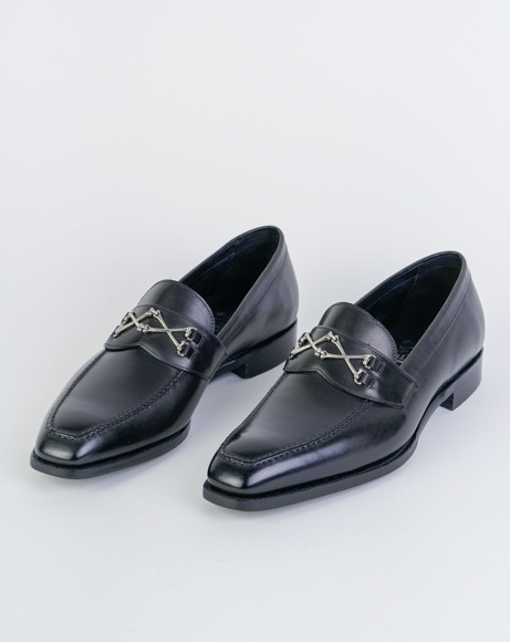 Picture of WOLFE - BLACK CLASSIC SHOES