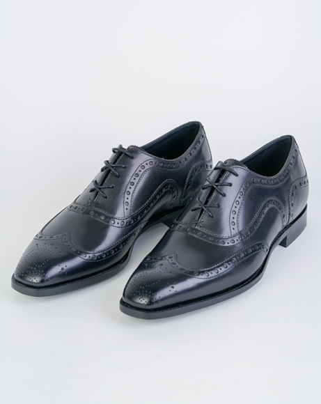 Picture of ARCHDALE - BLACK CLASSIC SHOES