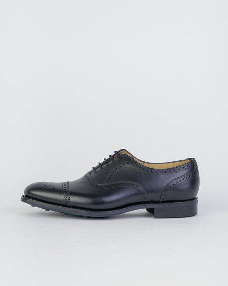 Picture of MIRFIELD - BLACK CLASSIC SHOES