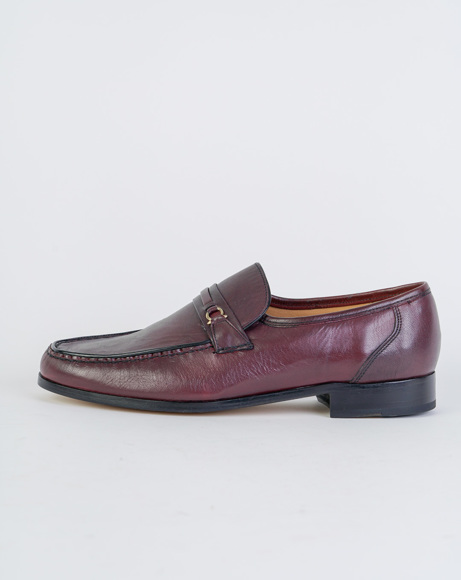 Picture of WADE - BURGUNDY CLASSIC SHOES