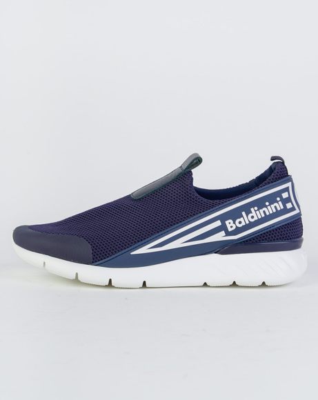 Picture of REAL LEATHER SLIP ONES BLUE