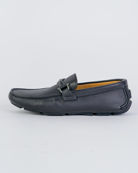 Picture of NAPPA LEATHER LOAFERS BLACK