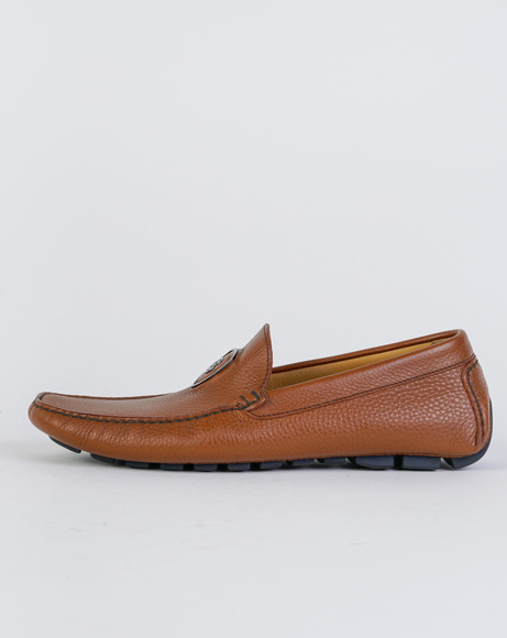 Picture of NAPPA LEATHER LOAFERS CAMEL