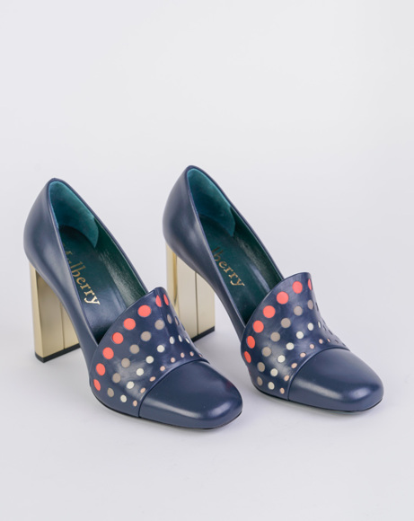 Picture of BROAD SQUARE TOE PUMPS
