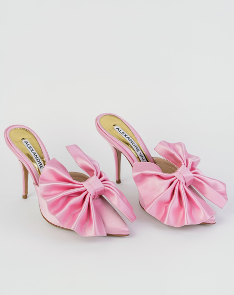 Picture of KATE MULE IN PINK SATIN