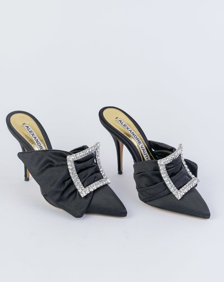 Picture of LOLA MULES IN BLACK