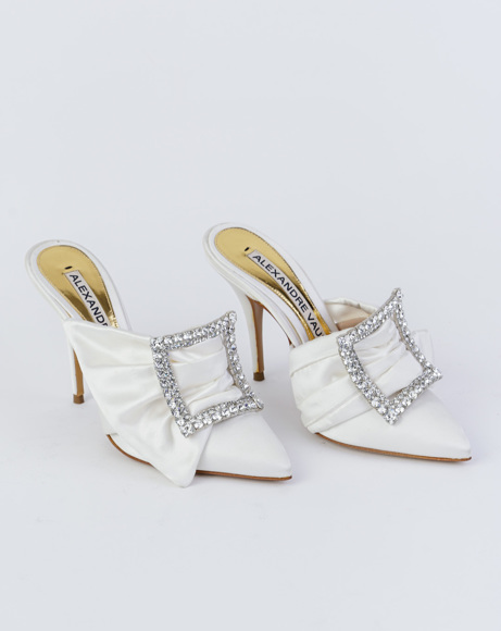 Picture of LOLA MULES IN WHITE