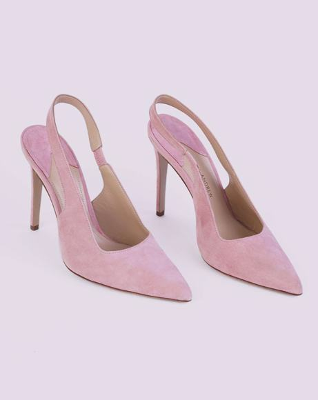 Picture of COQUETTE SLINGBACK PUMPS IN ROSE PINK