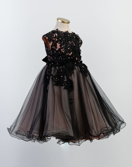 Picture of BLACK AND PINK TULLE DRESS