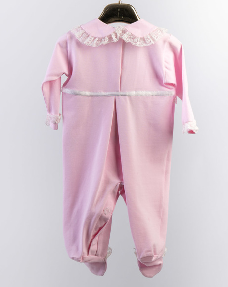 Picture of SILVER LESY EMBROIDERY BABYSUIT