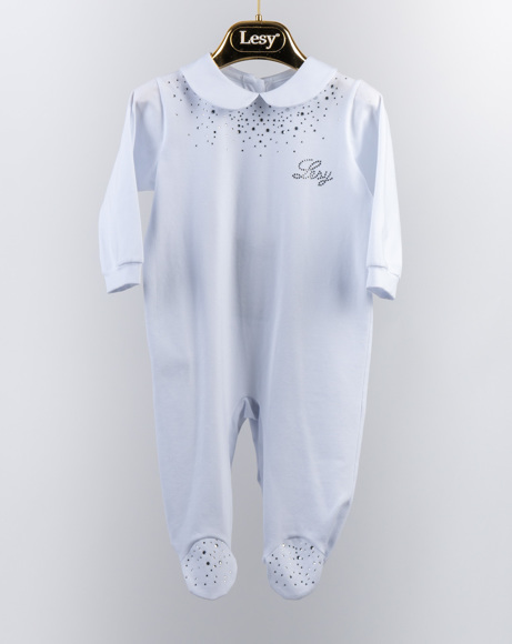 Picture of SLIVER LESY EMBROIDERY BABYSUIT