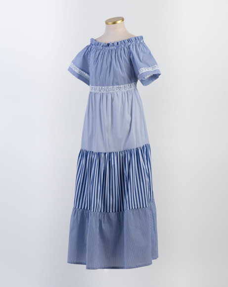 Picture of PANELED PEASANT DRESS
