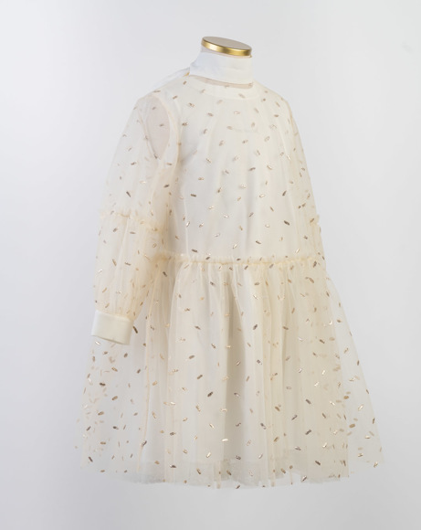 Picture of NICOLE DRESS IN IVORY