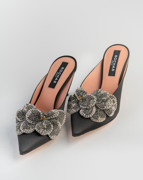 Picture of FLORAL EMBELLISHED MULES