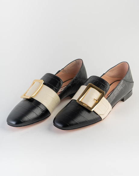 Picture of CROC PRINT JANELLE LOAFERS