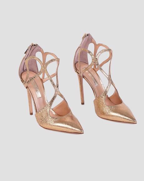 Picture of CUT-DETAIL HEELED PUMPS