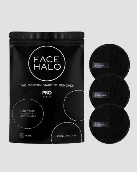 Picture of PRO BLACK PAD REUSABLE MAKEUP REMOVER  - PACK OF 3