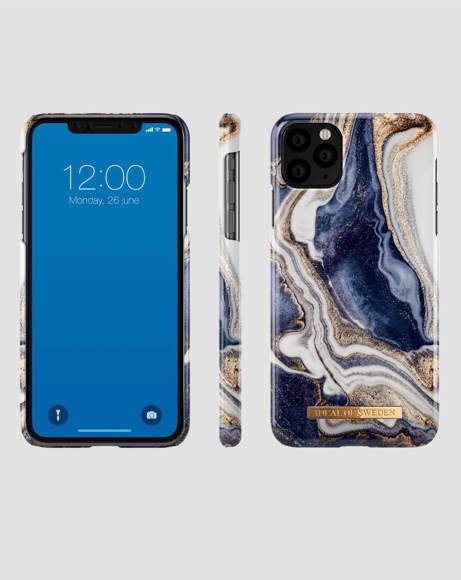Picture of GOLDEN INDIGO MARBLE  - CASE FOR iPHONE