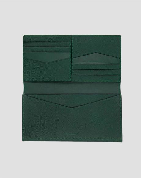 Picture of JADE GREEN TRAVEL WALLET