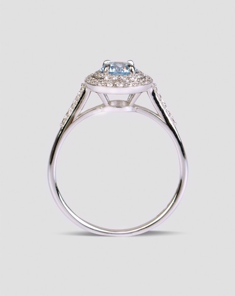 Picture of BLUE TOPAZ RING