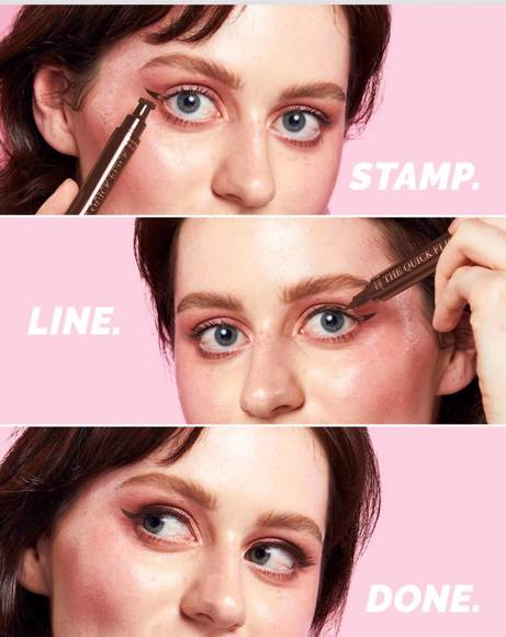 Picture of EYELINER STAMP HOT FUDGE - TO THE POINT
