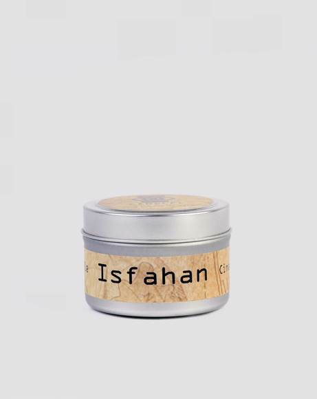 Picture of ISFAHAN : CINNAMON AND GINGER - TRAVEL CANDLE