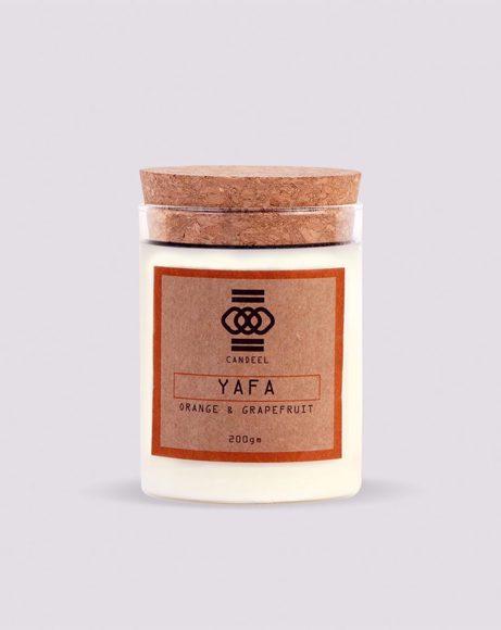 Picture of YAFA : ORANGE AND GRAPEFRUIT - CANDLE