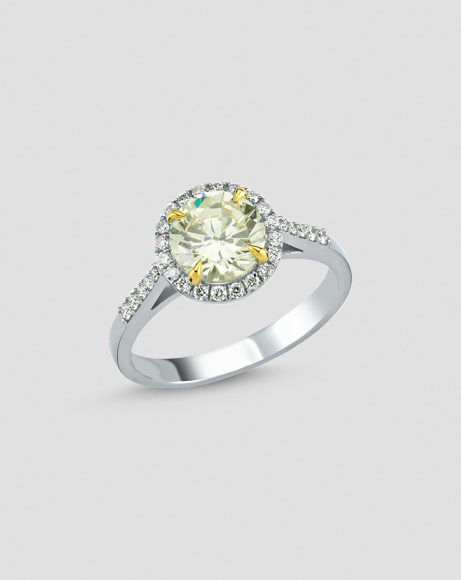 Picture of YELLOW TOPAZ RING