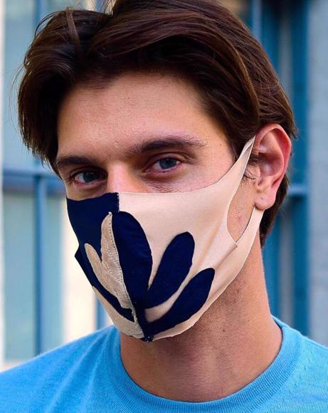 Picture of MASK ACACIA BICOLOR LIMITED EDITION GOLD & BLUE