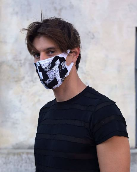 Picture of PATCH WORK FASHION MASK