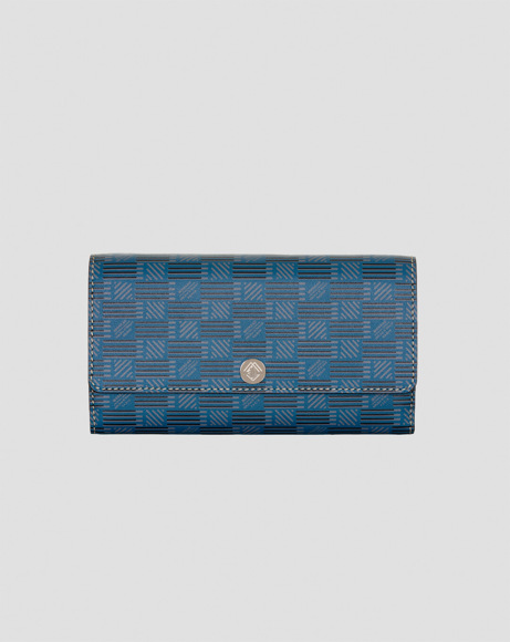 Picture of WALLET FLAP IN BLUE