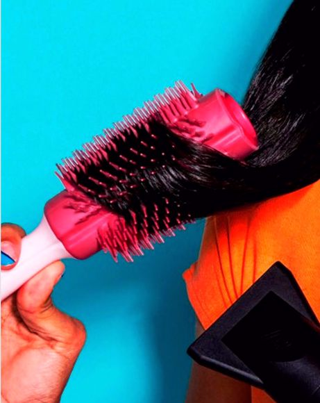 Picture of BLOW DRYING SMOOTHING TOOL, FULL SIZE PINK - HAIR BRUSH