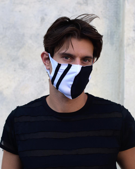 Picture of SPORT COVER FASHION MASK WITH LOGO DESIGN - ANTIBACTERIAL FABRIC