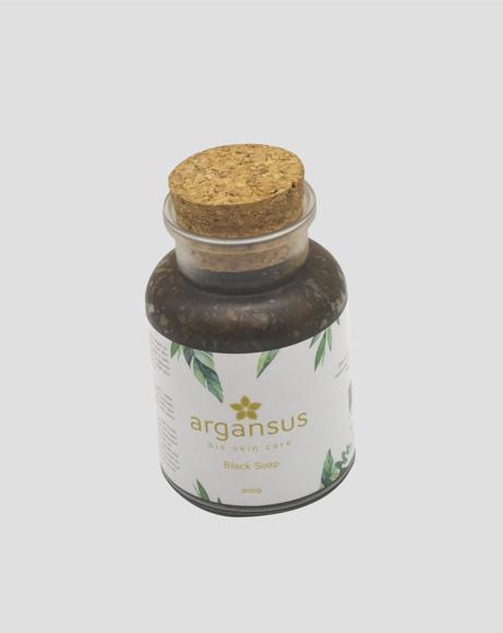 Picture of ARGANSUS BIO SKIN CARE BLACK SOAP
