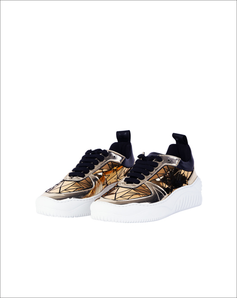 Picture of MOSAIC GOLD SNEAKER