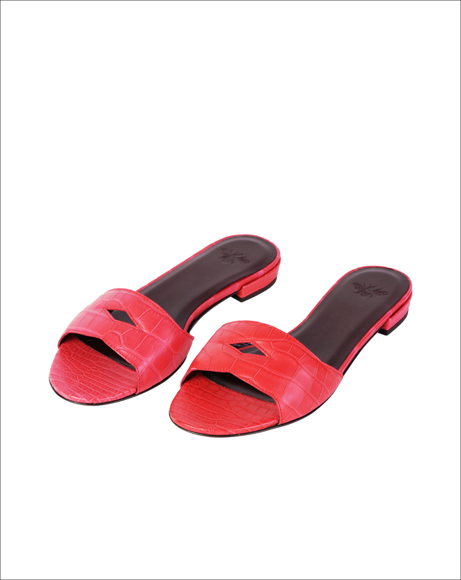 Picture of LEATHER SLIDES