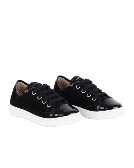 Picture of STITCHED LOGO LOW-TOP SNEAKERS